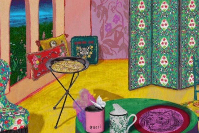 Gucci Home Decor Collection: Gucci Decor, Illustration by Alex Merry Art, Alessandro Michele home decor designs, luxury furniture brands gucci home decor Gucci Home Decor Line, Gucci Décor, Coming This Fall! 9ed2c0aa585bb8f1739a05419a450be7