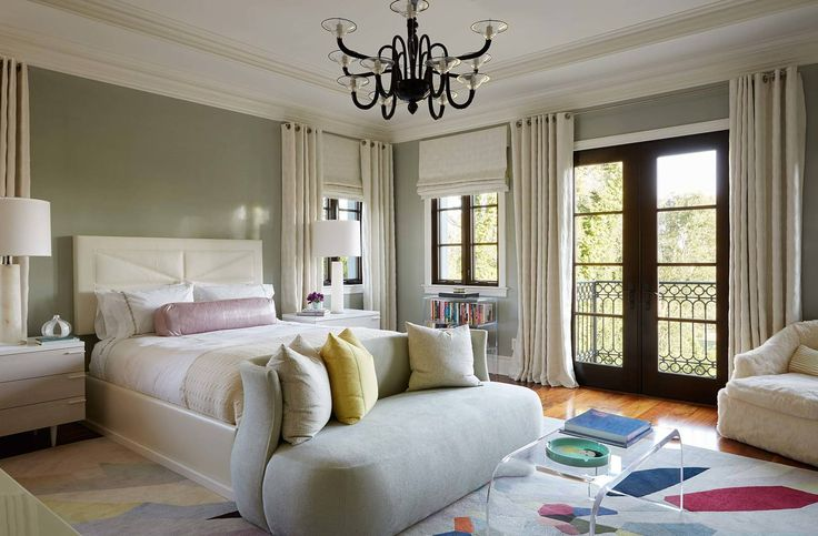 Top Interior Designers in LA: Artful Brentwood — Natasha Baradaran, ceiling ideas, bedroom interior design, okeefe, luxury bedroom furniture