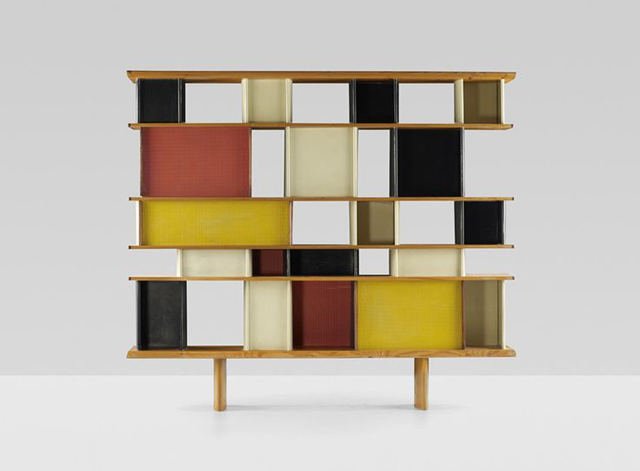Bibliothèque by Jean Prouvé and Charlotte Perriand, c. 1952, antique bookcase luxury furniture Can Luxury Furniture Be as Good of An Investment as Traditional Art? Biblioth  que by Jean Prouv   and Charlotte Perriand c