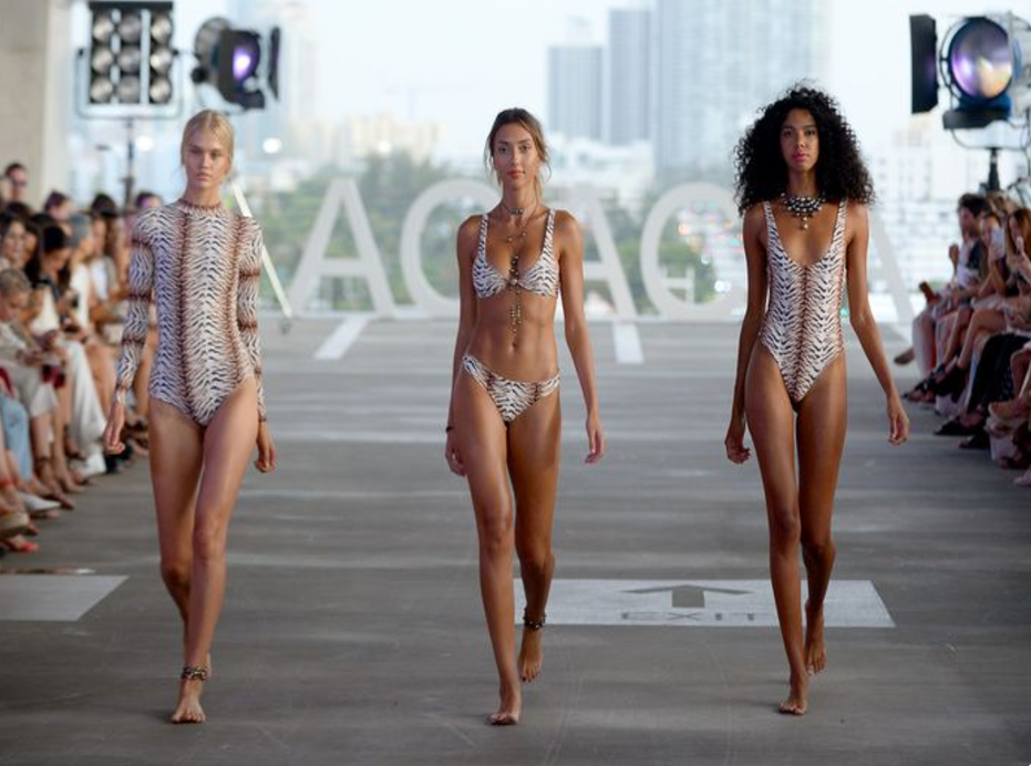 Miami Swim Week 2017 Acacia Runway July Funkshion Fashion