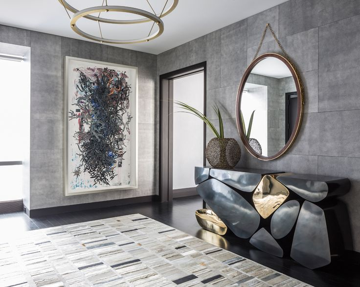 Drake/Anderson: Midtown Pied-A-Terre, Jamie Drake Top Interior Designer, Luxury Furniture, Manhattan Apartment Interior Design, Foyer Interior Design Jamie Drake It's All About the Exceptional Jamie Drake Drake Anderson Midtown Pied A Terre
