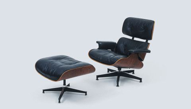 Eames Lounge Chair by Charles and Ray Eames, c. 1956, antique chair, collectors furniture, vintage chair and ottoman luxury furniture Can Luxury Furniture Be as Good of An Investment as Traditional Art? Eames Lounge Chair by Charles and Ray Eames c