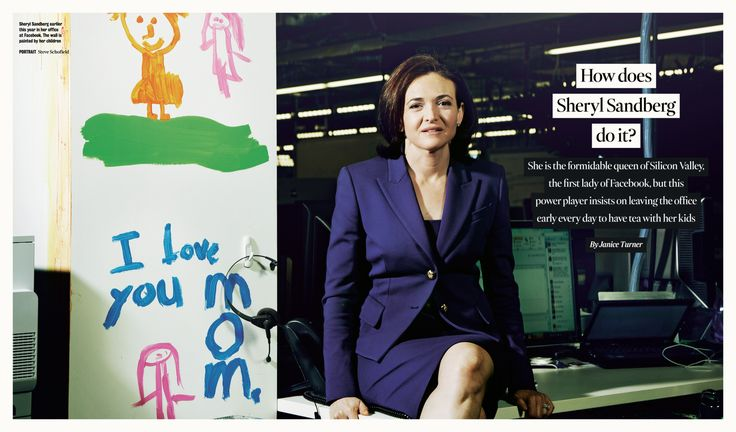 Facebook COO Sheryl Sandberg - Women Empowerment - Option B