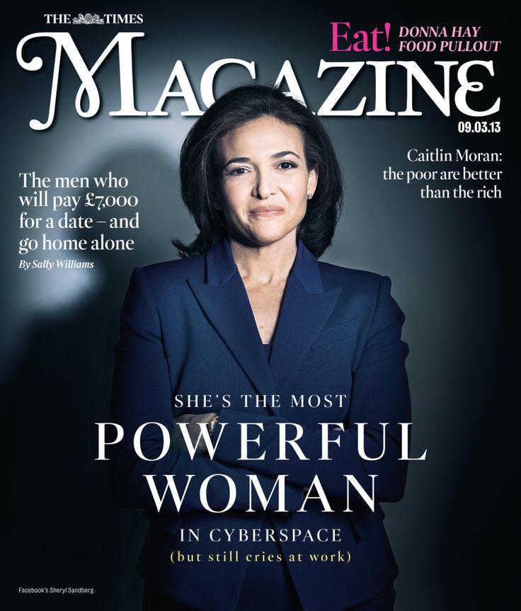 Facebook's Sheryl Sandberg - The Times Magazine Cover - Women Empowerment women empowerment Women Empowerment: Facebook's COO Sheryl Sandberg Facebooks Sheryl Sandberg The Times Magazine Cover