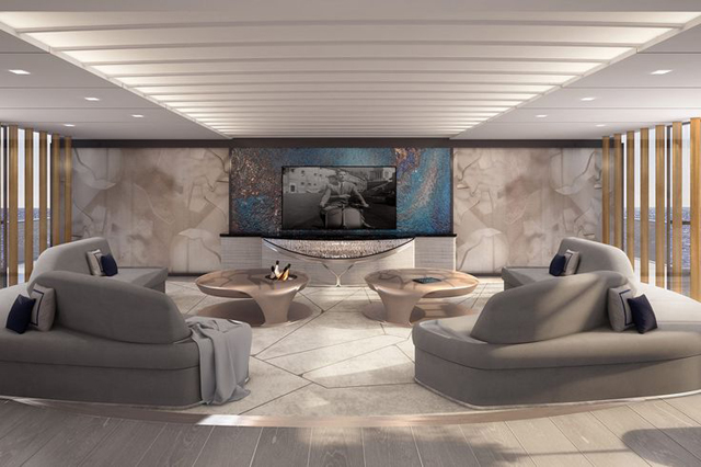 Fincantieri Salon by March & White Architecture and Interior Design, best interior designers, top interior designers, top architects, best architects March & White Meet the Dynamic Design Duo March & White Fincantieri Salon by March White