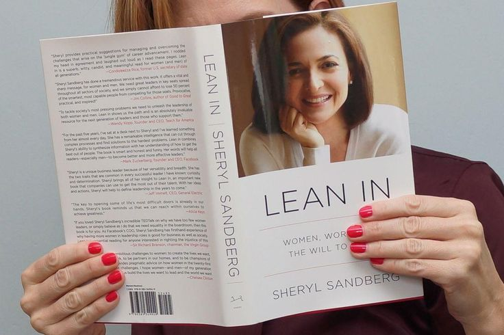 Lean In by Sheryl Sandberg - Women Empowerment - how to be a successful woman in business