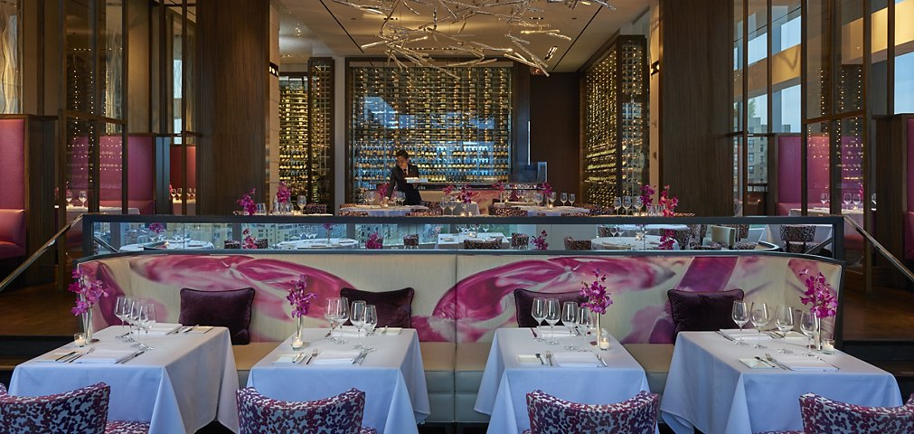 Asiate At The Mandarin Oriental New York Fine Dining Best Restaurants In Nyc