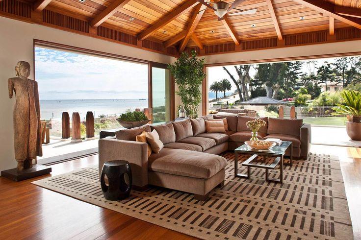 Top Interior Designers in Beverly Hills: Montecito — Natasha Baradaran, open-air living room design top interior designers Top Interior Designers: Los Angeles' Natasha Baradaran Montecito     Natasha Baradaran