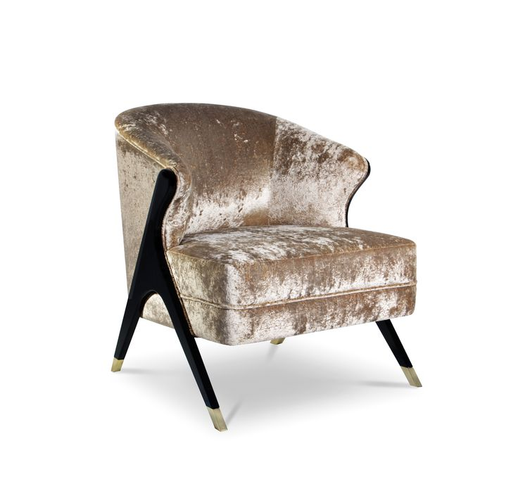Naomi Chair by KOKET-Lounge Chairs, Accent Chairs, Upholstered accent Chairs koket's most popular designs 12 of KOKET's Most Popular Designs Naomi Chair by KOKET Lounge Chairs Accent Chairs Upholstered Chairs