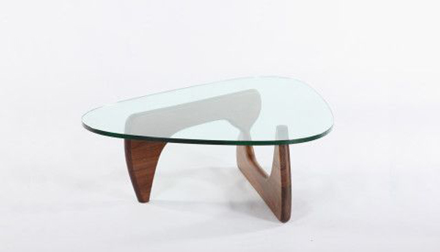 Noguchi Coffee Table by Isamu Noguchi, c. 1947, antique cocktail table, glass coffee table luxury furniture Can Luxury Furniture Be as Good of An Investment as Traditional Art? Noguchi Coffee Table by Isamu Noguchi c