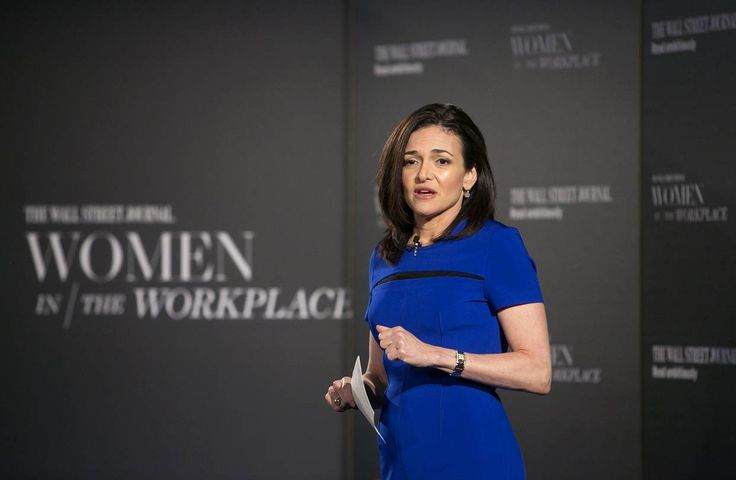 The Wall Street Journal - Women in the Workplace - Sheryl Sandberg - Women Empowerment - Feminism - Lean In