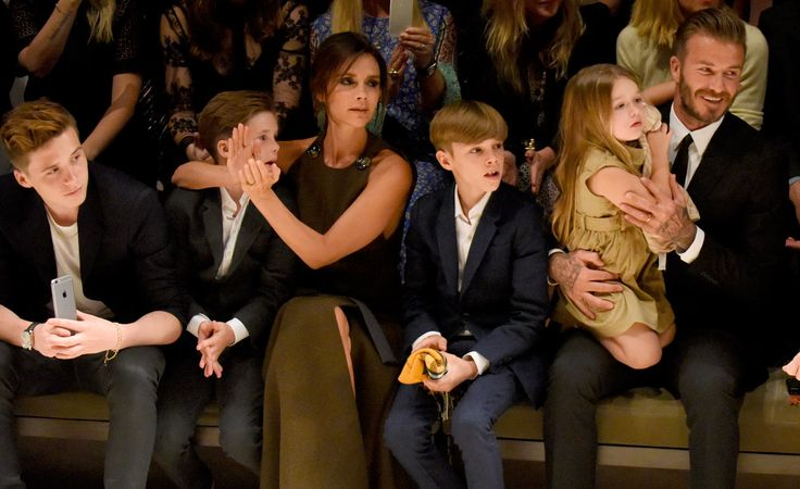 Victoria Beckham's Family - David Beckham, Brooklyn, Romeo, Cruz and Harper - Women Empowerment