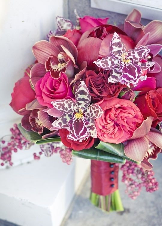 wedding bouquets, bridal, pink orchids orchid bouquet 10 Amazing Orchid Bouquets a2629e80f161c426a15afb1ed17f8f6e orchids garden garden roses