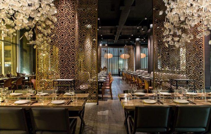 Embeya Restaurant Chicago - Interior design by Karen Herold, 555 International, Studio K, best restaurant designers