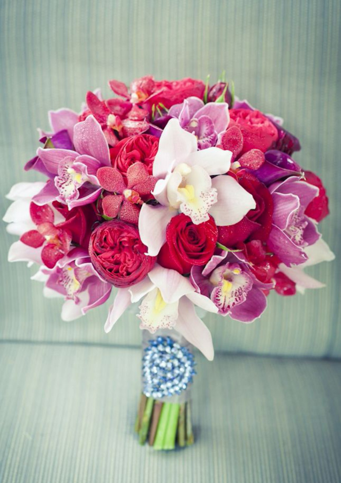 wedding bouquets, bridal, pink and purple orchids orchid bouquet 10 Amazing Orchid Bouquets timthumb