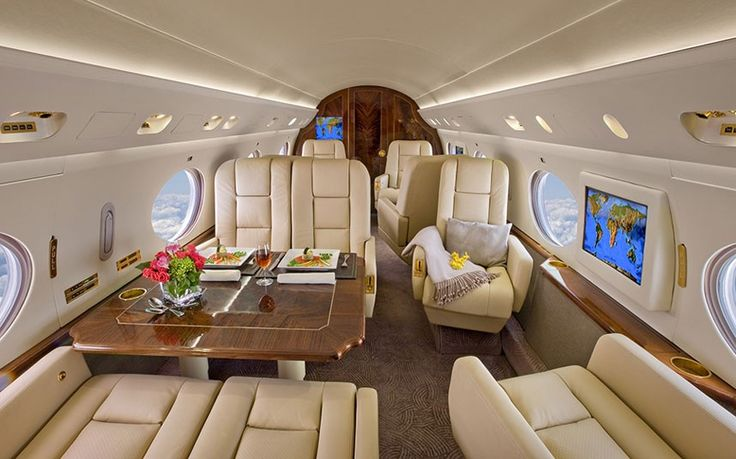 Luxury Private Jet Interiors