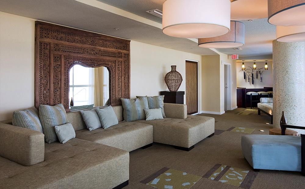 Condominium Community Lounge - Common Area Design by B. Pila Design Studio - Top Interior Designers - Social Room Design