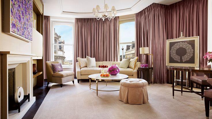 Best Restaurants in London - Top London Hotels - Corinthia Hotel London - Trafalgar Suite - Luxury furniture - Luxury hotel design