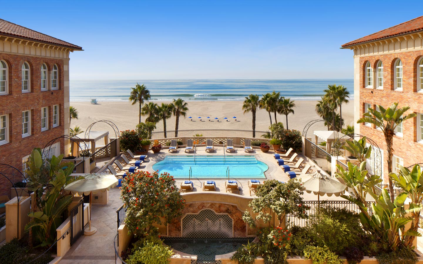 Top Luxury Hotels in America - Hotel Casa del Mar - Santa Monica, CA - Luxury beach hotels LA Top Luxury Hotels in America Top Luxury Hotels in America for the Perfect End of Summer Getaway Hotel Casa del Mar Santa Monica CA