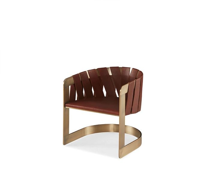 Kara Mann Furniture Designs for Baker Furniture - Milling Road Collection by Kara Mann - Curved Back Chair - Leather and Brass Accent Chair - Sling Chair - Top Interior Designers top interior designers Top Interior Designers: Kara Mann Design Kara Mann Furniture Designs for Baker Furniture Milling Road Collection by Kara Mann Curved Back Chair Leather and Brass Accent Chair Sling Chair