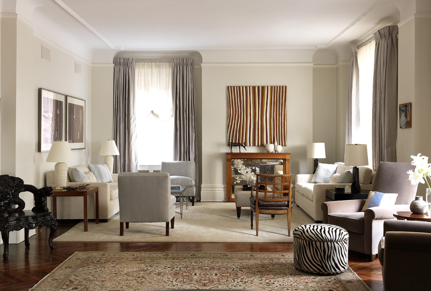 Top NYC Interior Designers - Katie Lydon Interiors - living room - luxury interior design