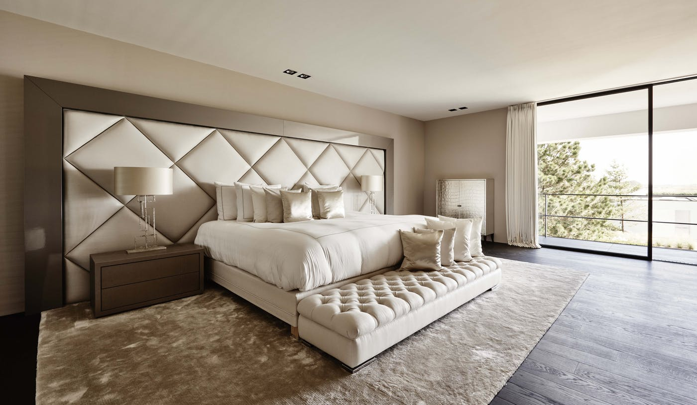 Luxury Bedroom Ideas - Eric Kuster - Metropolitan Luxury - Top Interior Designers - Neutral bedrooms - glamorous bedrooms - luxury beds