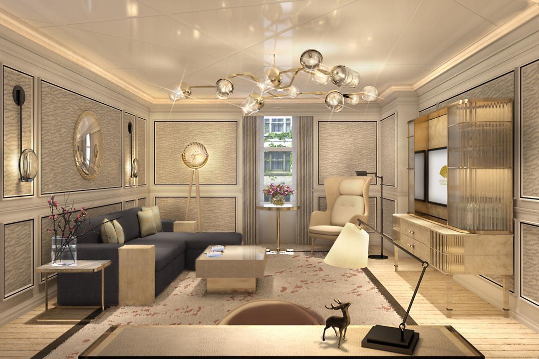 Top London Hotels - Mandarin Oriental - London renovation superior suite - luxury hotel suites - interior design by Joyce Wang - Best Restaurants in London