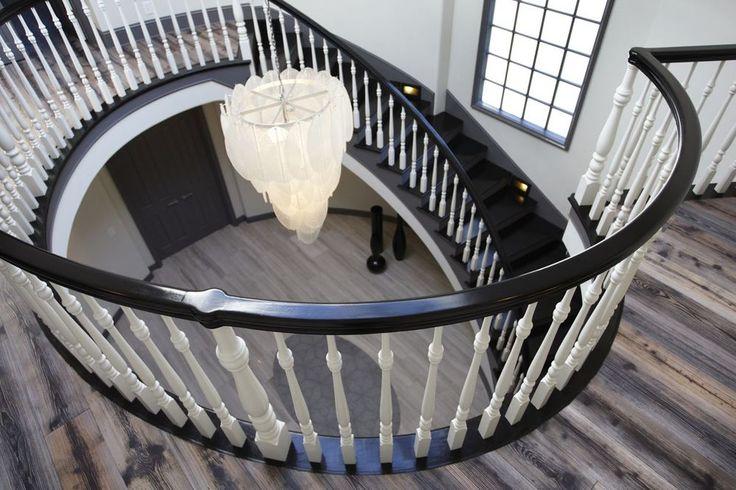Top Interior Designers - Newport Beach, CA Residence - Interior Design by FORM Design Studio - stairway design - circular stairway top interior designers Top Interior Designers: FORM Design Studio Newport Beach CA Residence Interior Design by FORM Design Studio