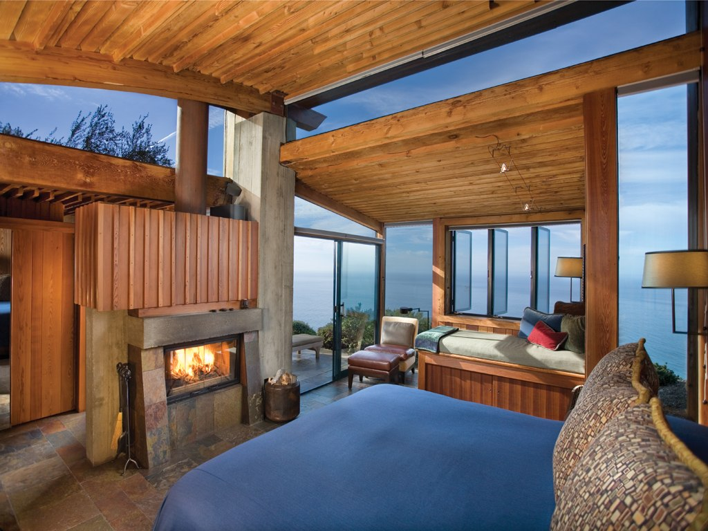 Top Luxury Hotels in America - Post Ranch Inn - Big Sur, CA - Remote resorts - interior design by Janet Gay Freed Top Luxury Hotels in America Top Luxury Hotels in America for the Perfect End of Summer Getaway Post Ranch Inn Big Sur CA