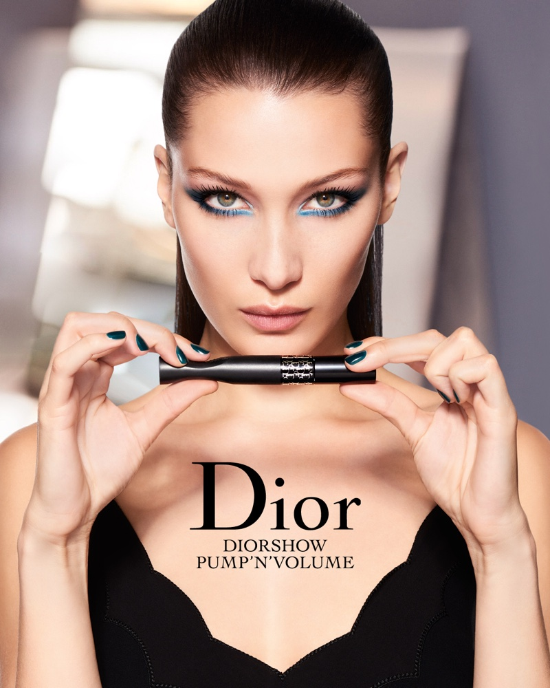 Relaxation and Rejuvenation Meet Haute Couture at a Paris Spa - Dior Institut - Hotel Plaza Athenee-Bella-Hadid-Dior-Makeup-Campaign