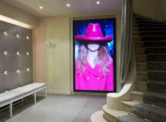 Relaxation and Rejuvenation Meet Haute Couture at a Paris Spa - Dior Institut - Hotel Plaza Athenee - Entryway - Glamorous Spa Design