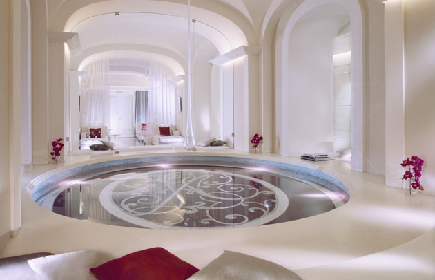 Relaxation and Rejuvenation Meet Haute Couture at a Paris Spa - Dior Institut - Hotel Plaza Athenee - Hot Tub - Glamorous Spa Design - Guillaume-de-Laubier