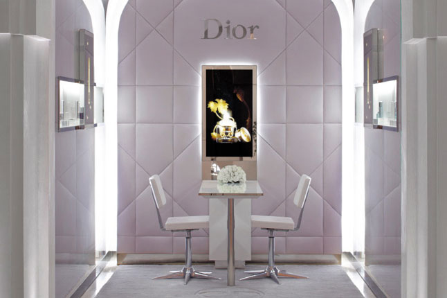 Relaxation and Rejuvenation Meet Haute Couture at a Paris Spa - Dior Institut - Hotel Plaza Athenee - Treatment Room - Glamorous Spa Design