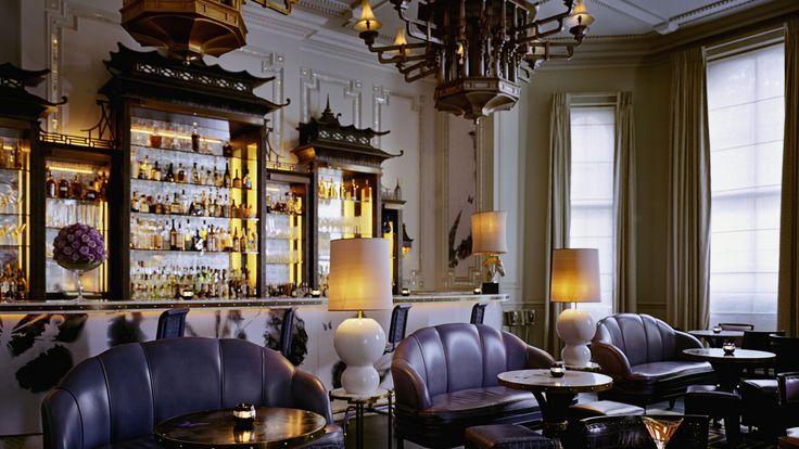 Best Restaurants in London - Top London Hotels - The Langham Hotel - Artesian bar
