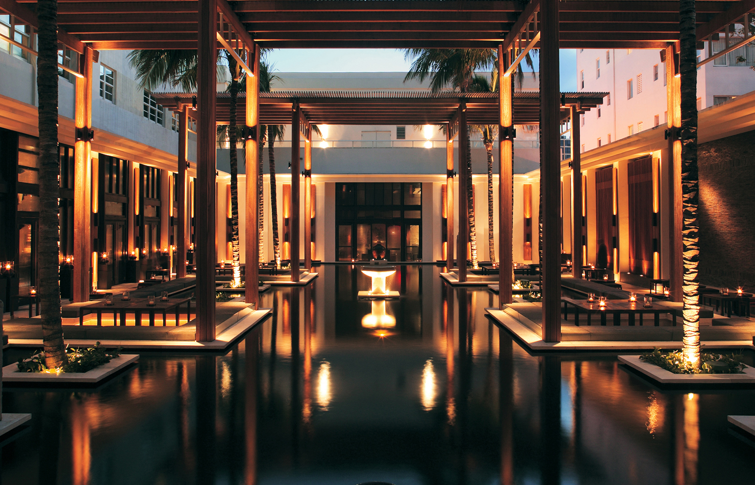 Top Luxury Hotels in America - The Setai - Miami Beach, FL - Hotels Miami Beach - Hotels South Beach - Luxury Hotels in FL Top Luxury Hotels in America Top Luxury Hotels in America for the Perfect End of Summer Getaway The Setai Resort and Residences Miami Beach FL