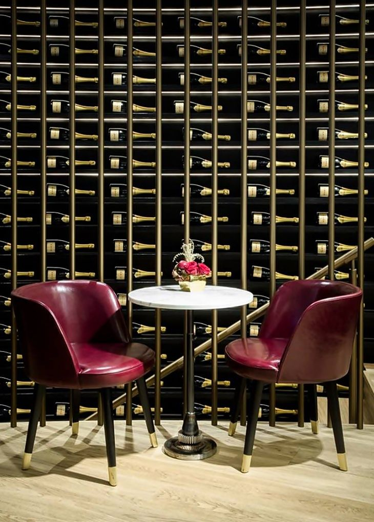 The Wine Palace by Humbert & Poyet-Wine Cellar Design-Wine Storage-Wine Display wine room 13 Wine Room Design Inspirations The Wine Palace by Humbert Poyet Wine Room Design Ideas Wine Cellar Design Wine Storage Wine Display