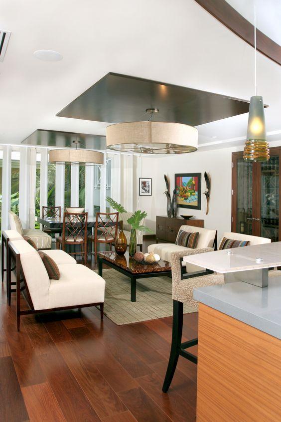 Warm, Organic & Textural Contemporary - Interior Design by B. Pila - Top Interior Designers - Living room designs - Modern Asian Interiors