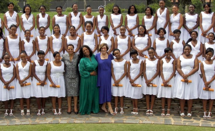 Women Empowerment - The Oprah Winfrey Leadership Academy for Girls - First Graduating Class