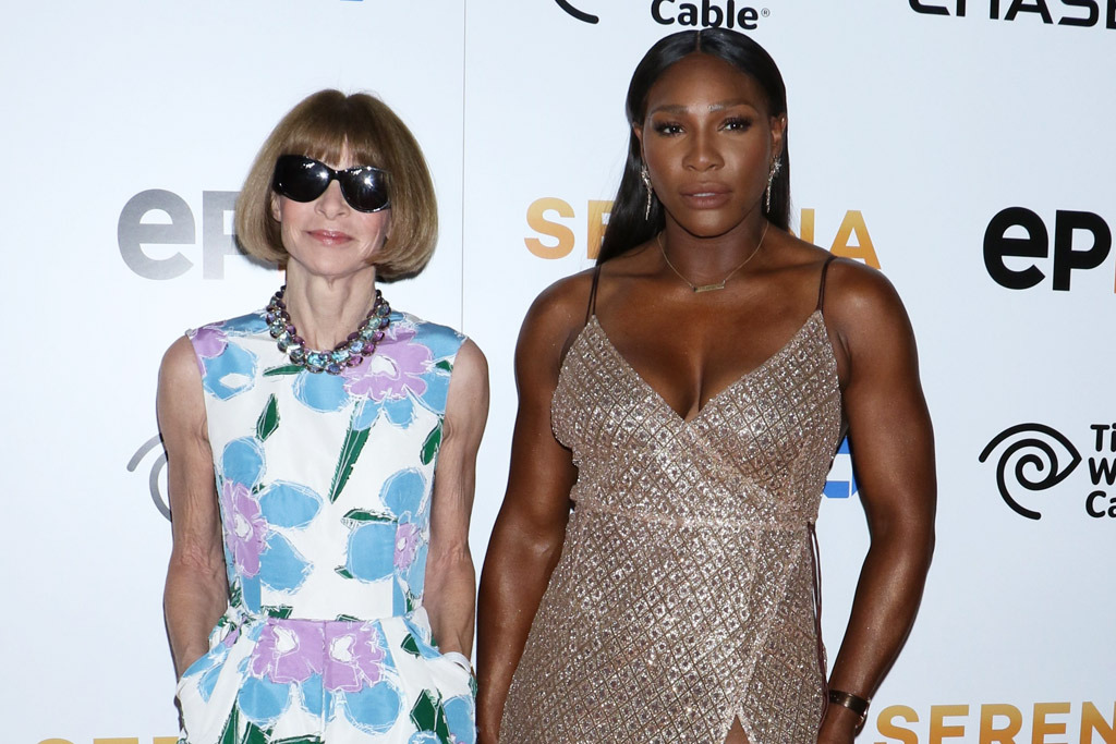 Women Empowerment - Black Women's Equal Pay Day: Serena Williams - Anna Wintour, Fashion black women's equal pay day Women Empowerment: Serena Williams and Black Women's Equal Pay Day anna wintour serena williams