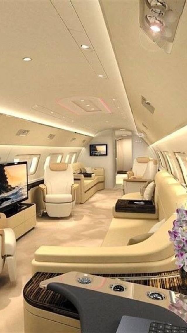 Luxury Private Jet Interiors - Private Travels - Luxury Furniture