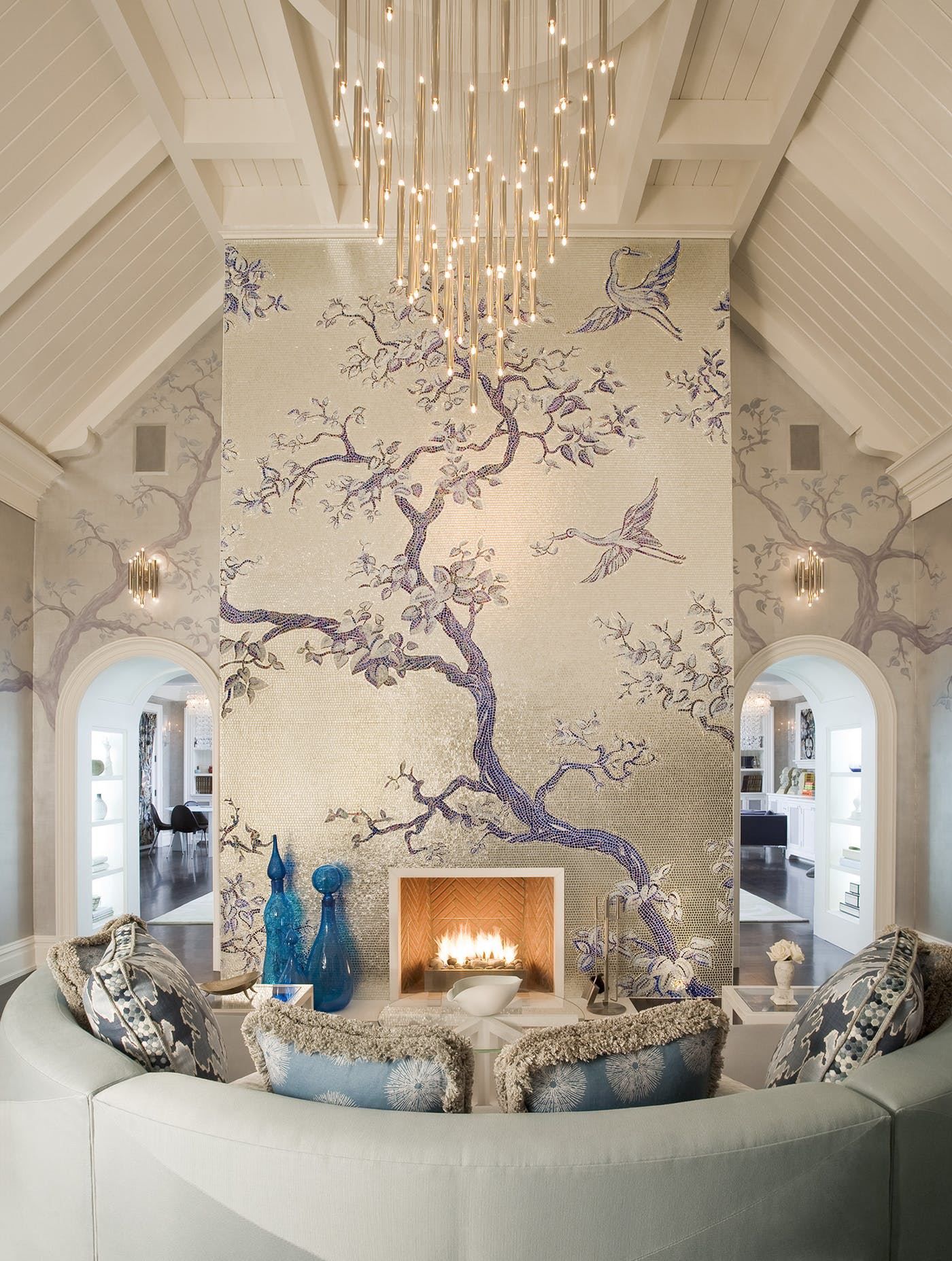 Top NYC Interior Designers - Daun Curry - interiors great room living family room