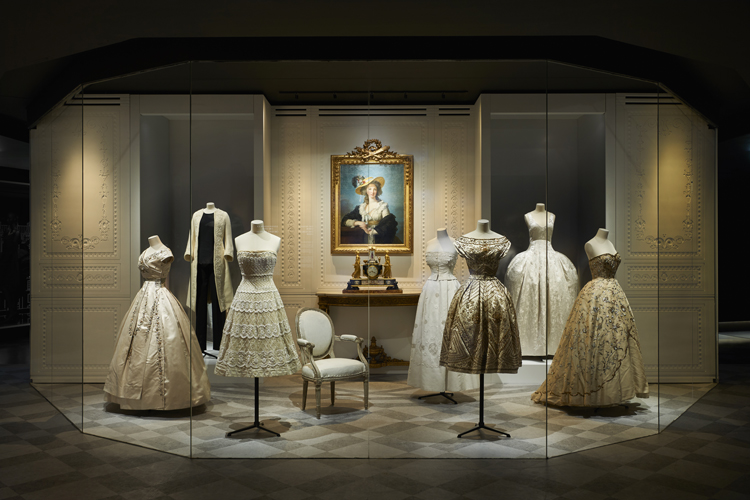 70th Anniversary of the House of Dior: Christian Dior, Couturier du Rêve at the Musée des Arts Decoratifs - museum fashion exhibitions, fashion exhibit, luxury furniture, atelier