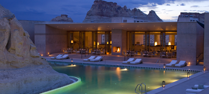 Top Luxury Hotels In America Amangiri Canyon Point Ut