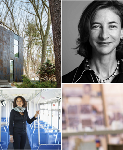 Architectural Record's Women in Architecture Awards 2017 Winners - Top Female Architects - Marion Weiss - Deanna Van Buren - Billie Faircloth - Grow Box - Ideal Choice Homes India Housing Project - Olympic Sculptural Park