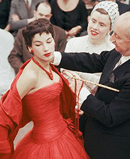 Mark Shaw - Haute Couture Fashion Photography Exhibition - Christian Dior backstage fitting session - Dior's 70th Anniversary - Vintage Dior - Vintage Fashion