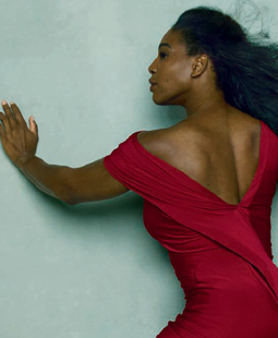 Women Empowerment - Black Women's Equal Pay Day: Serena Williams Vogue