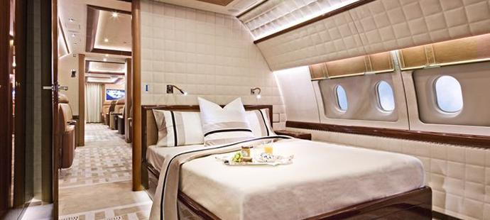 Luxury Private Jet Interior by Alberto Pinto