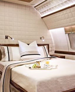 Luxury Private Jet Interior by Alberto Pinto