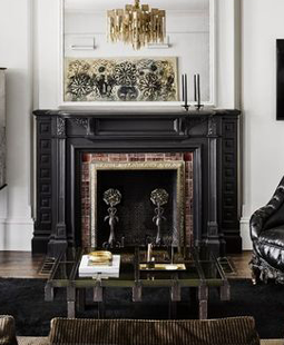 Chelsea Hotel Interior Design by Kara Mann - White Living Rooms - White Rooms
