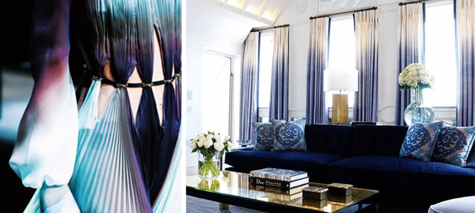 At Home and In Fashion: The Forever Glamorous Ombre Color Trend